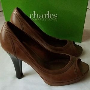 Charles by Charles David Hamilton Brown Leather
